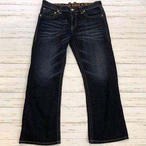 ROCK REVIVAL | Men's Blane Bootcut Jeans Size 38